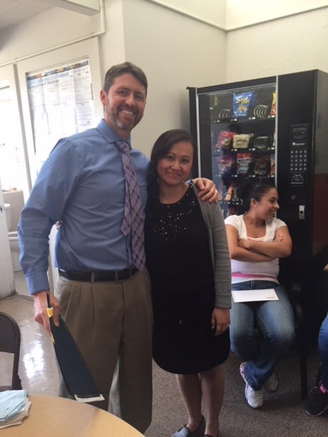 Congratulations, Ms. Vang, MacQuiddy Teacher of the Month!